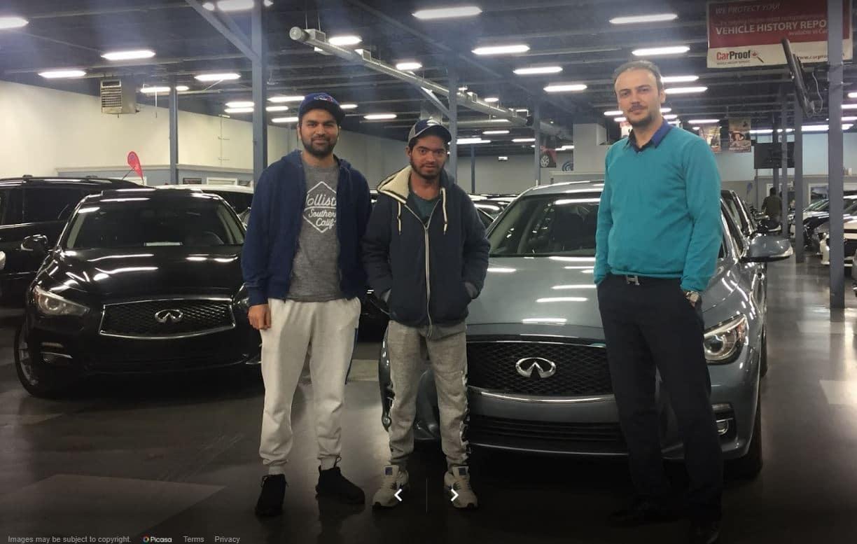 Happy Car Loan Customer